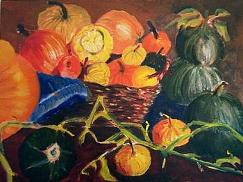Gourds, Squash and Pumpkins