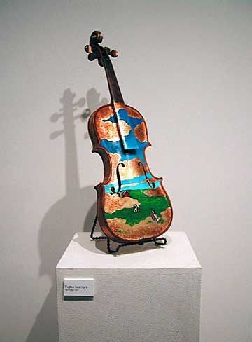 Painted Violin