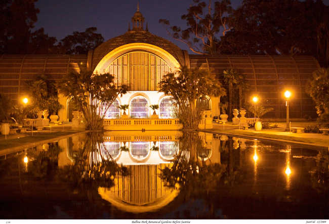 Botanical Gardens Before Sunrise, Balboa Park