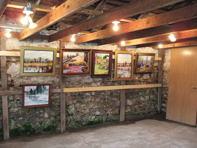 Hen House Gallery, interior