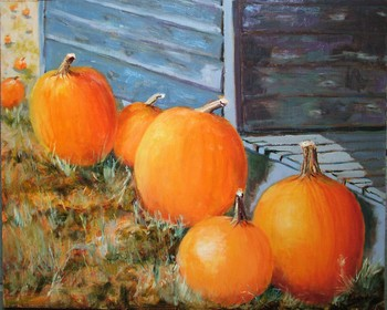 Pumpkins by the Step