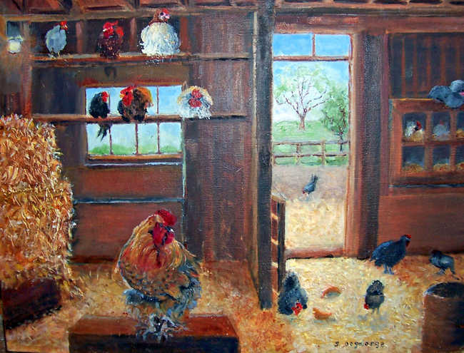 The Chicken House at Monches Farm