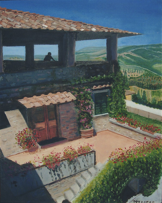 Tuscan Manor House
