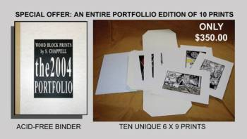 A COMPLETE PORTFOLIO OF 10 PRINTS AT A SPECIAL PRICE!