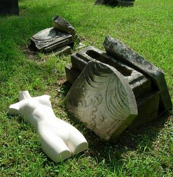 Nymph in Graveyard 6