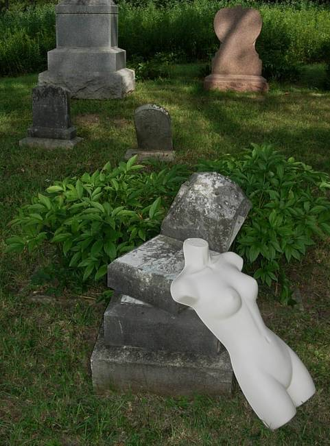 Nymph in Graveyard 9