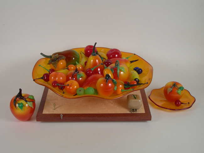 Bowl of Fruit (Monuments in a Park)