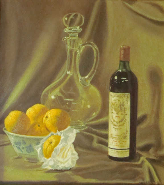 Wine and Oranges