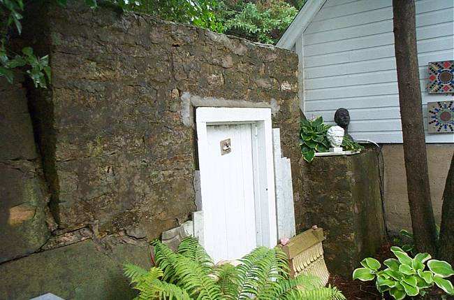 Root Cellar and Door
