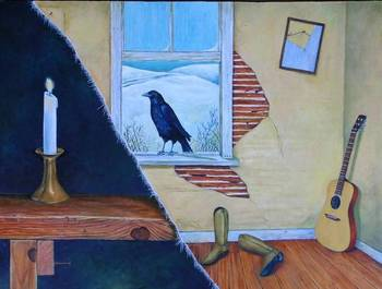 That Raven At My Window Was Only A Crow