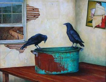 Two Crows For A Secret Never To Be Told