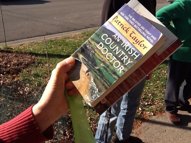 A donated book
