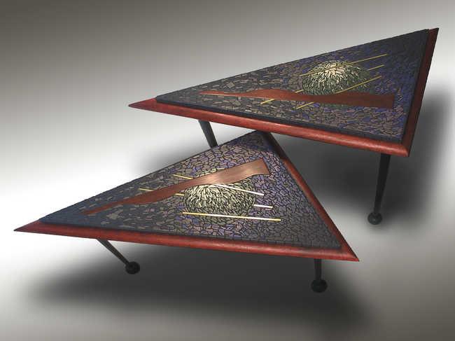 Triangle Tables or Wall Sculptures