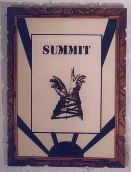 Summit, Screan Print,