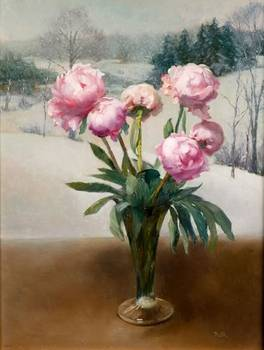 Peonies in Winter