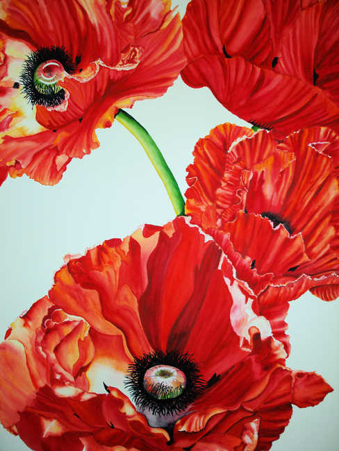Red Poppies No. 2