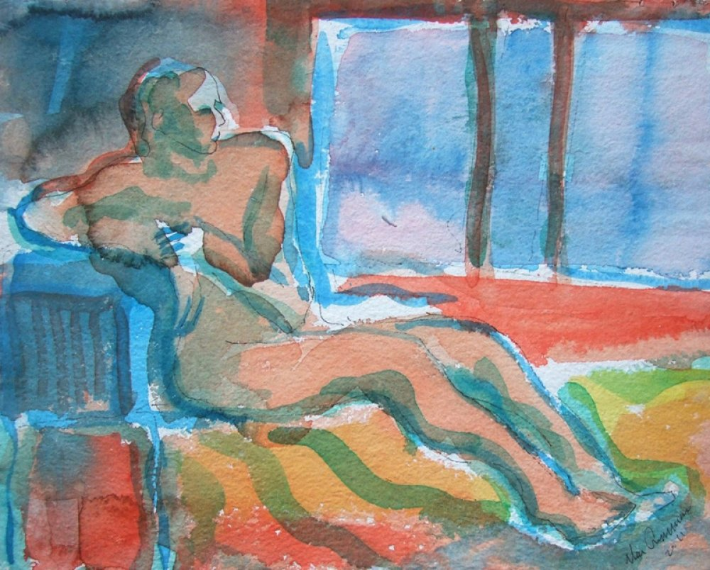 Man With a Window