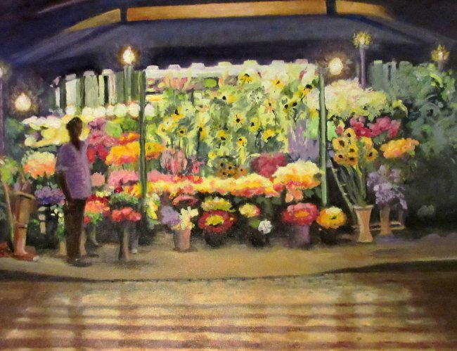 All- night flower shop,Rome