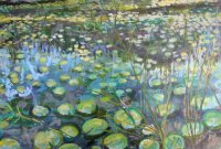 Wingra Water Lilies Two