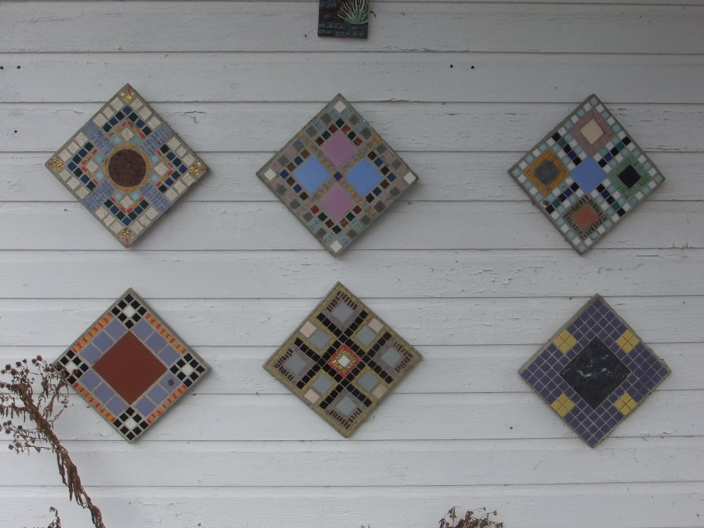 Glass Mosaic and Ceramic Casts
