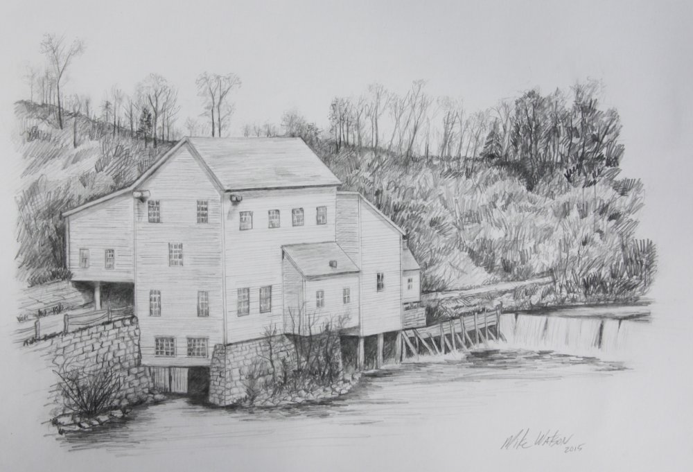 Old Mill at Gays Mills