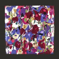 Magenta and Purple Flowers L