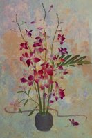 Orchids with Lilies