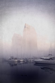 Early Morning Fog at the Marina