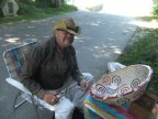 Chuck Beckwith with Mosaic Bowl 1