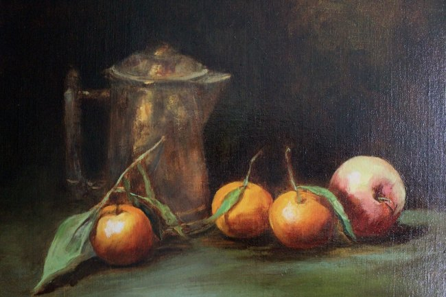 Tangerines and copper