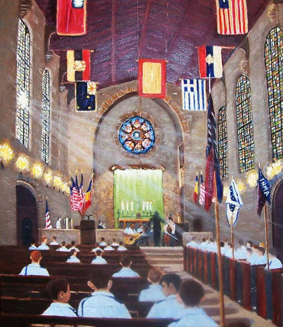 Victory Chapel at St. John`s  Northwestern Military Academy