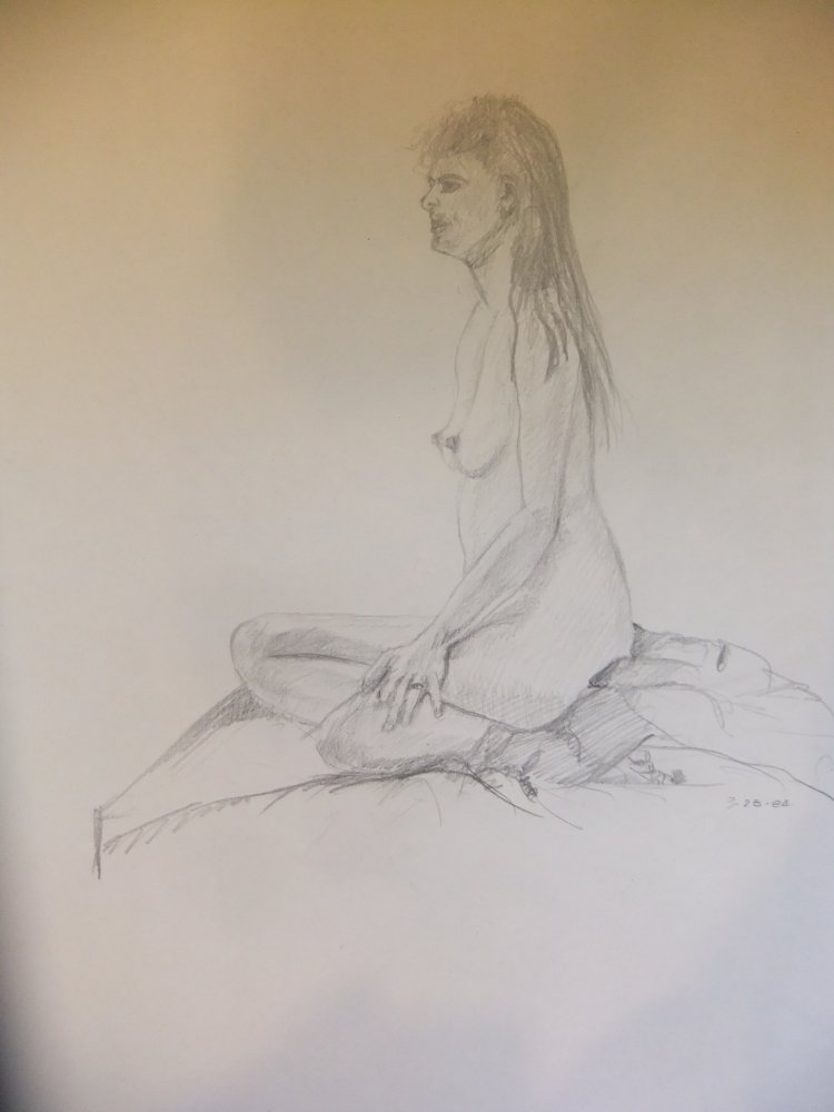 Seated Woman Lifedrawing