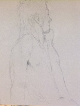 Male Torso Lifedrawing