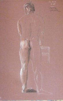 Standing Male Nude Lifedrawing