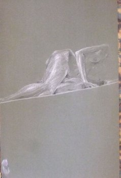 Female on Incline Lifedrawing