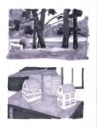 Two Value Studies. River and Trees and House Models