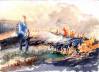Chuck Beckwith in Controlled Burn 27 July 2004