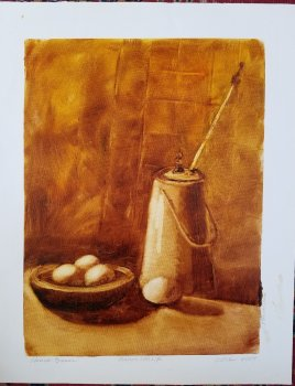 Diane's Still Life - Grisaille